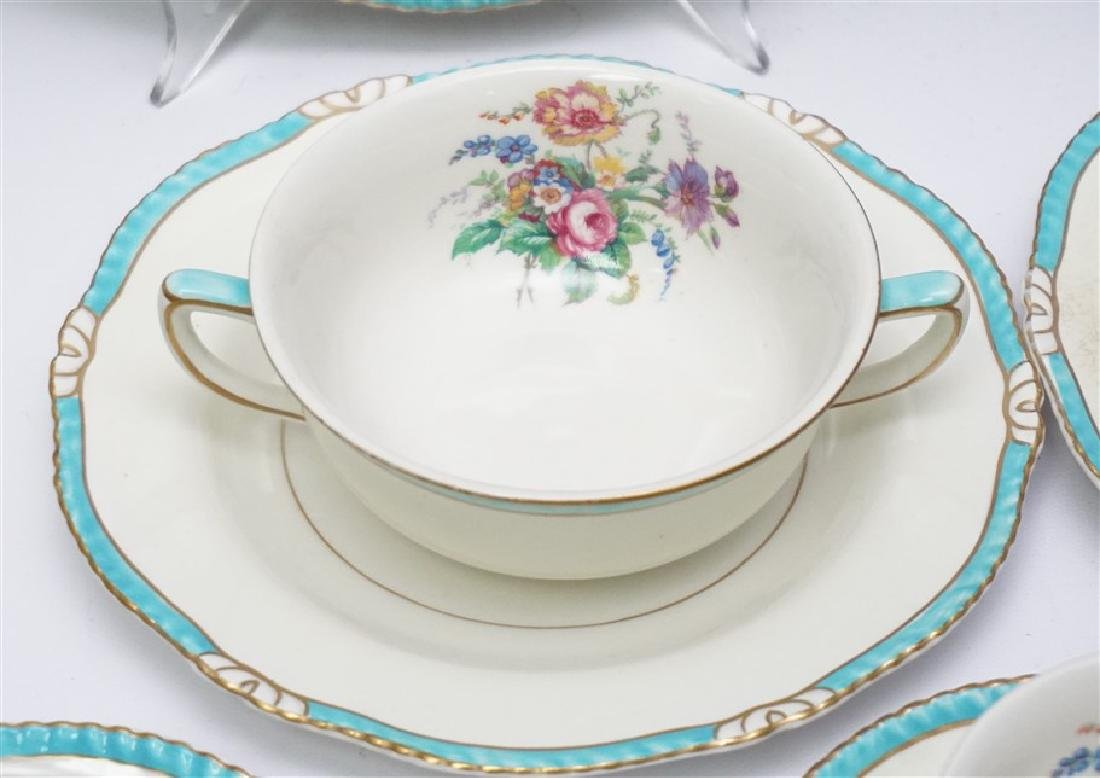27 PC ENGLISH RIDGWAYS ROSLYN CHINA - 4