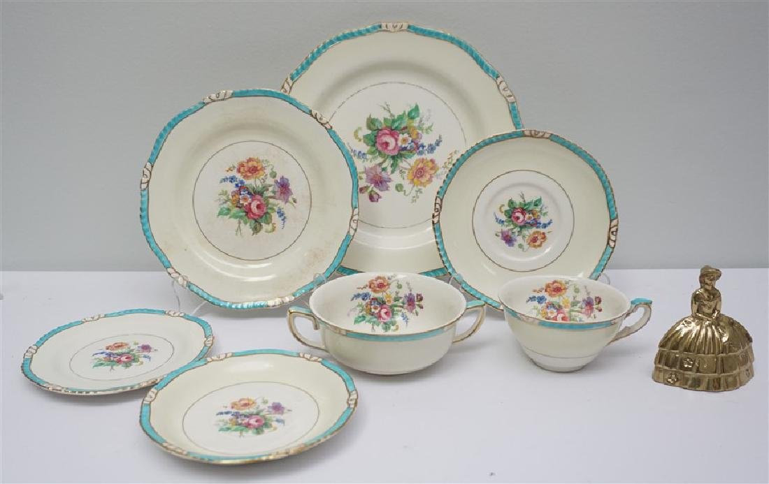 27 PC ENGLISH RIDGWAYS ROSLYN CHINA - 8