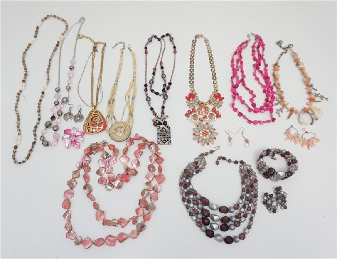 15 PC STATEMENT FASHION JEWELRY