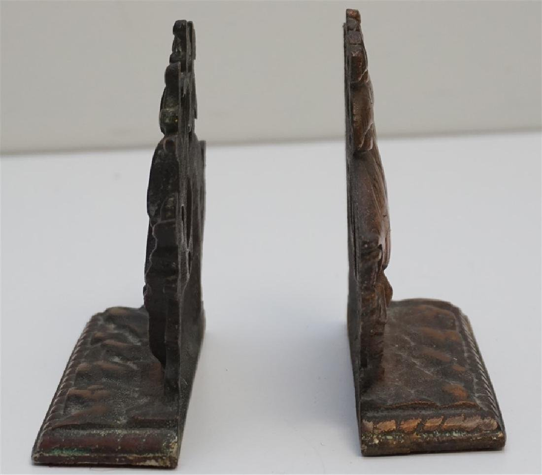 VINTAGE SPANISH GALLEON BOOKENDS - 2