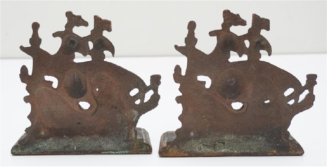 VINTAGE SPANISH GALLEON BOOKENDS - 3