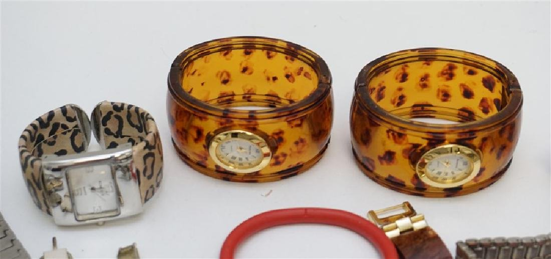 LARGE COLLECTION FASHION WATCHES - 2