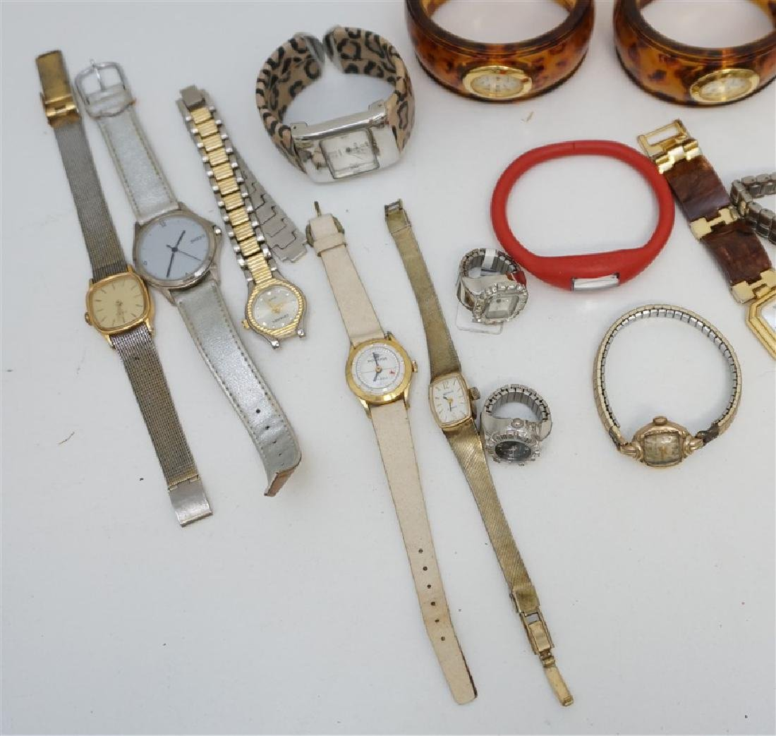 LARGE COLLECTION FASHION WATCHES - 3