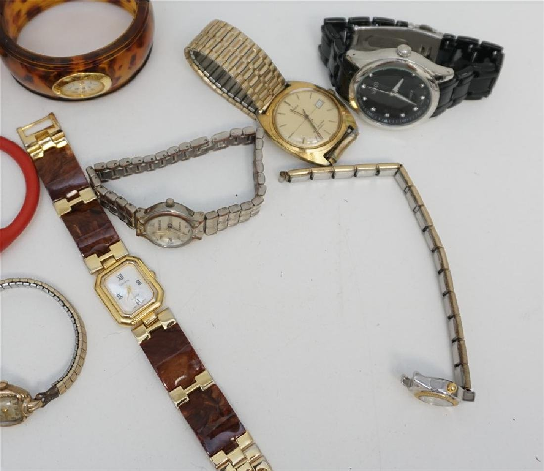 LARGE COLLECTION FASHION WATCHES - 4