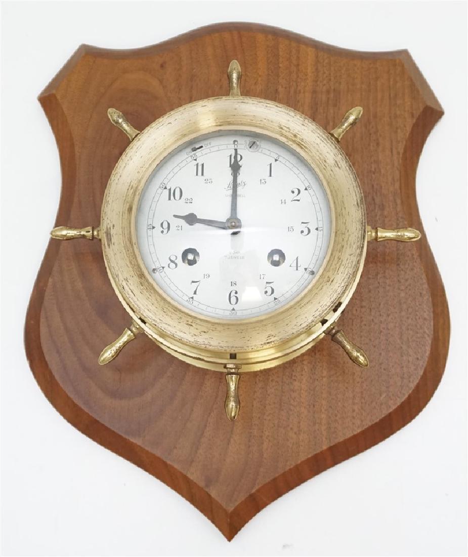 VINTAGE SCHATZ MARITIME CLOCK