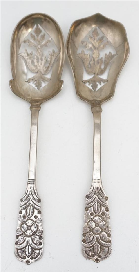 2 900 COIN SILVER SERVING SPOONS