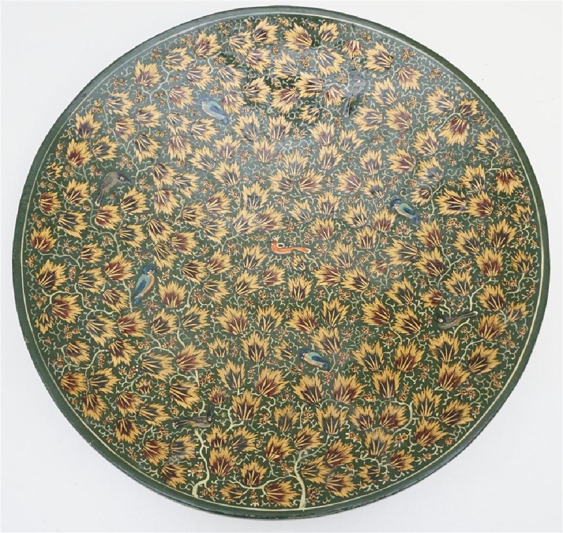 INDO PERSIAN PAPIER MACHE CHARGER
