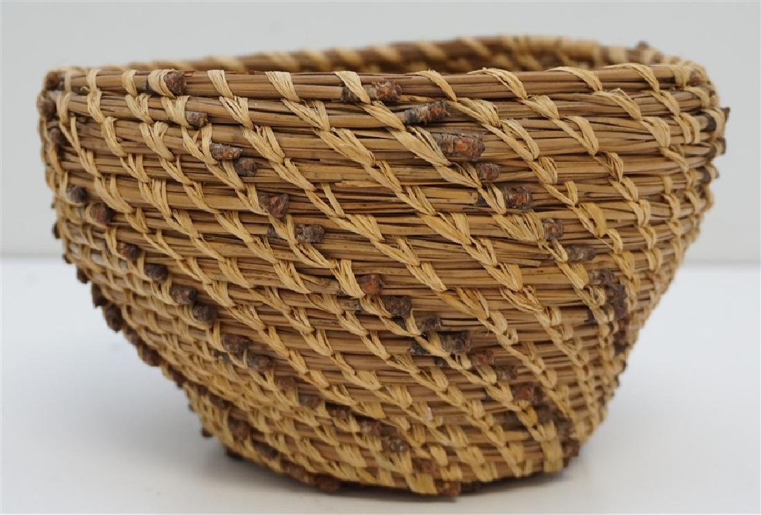 SEMINOLE PINE NEEDLE BASKET 1920