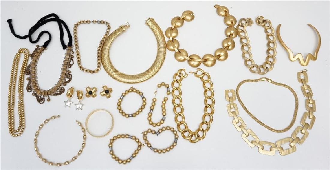 15 pc STATEMENT ESTATE JEWELRY