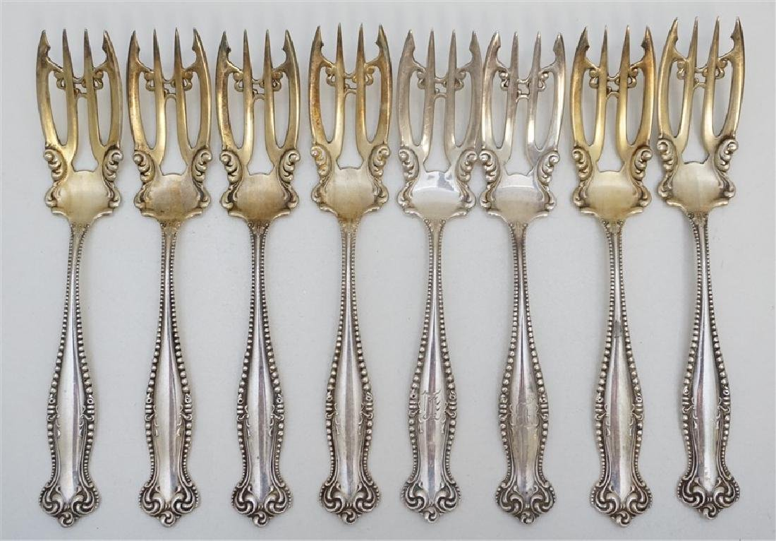 8 STERLING TOWLE CANTERBURY FORKS