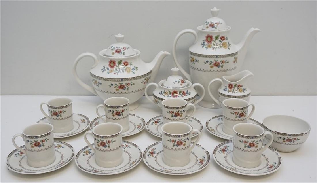 21 PC TEA & COFFEE SERVICE ROYAL DOULTON