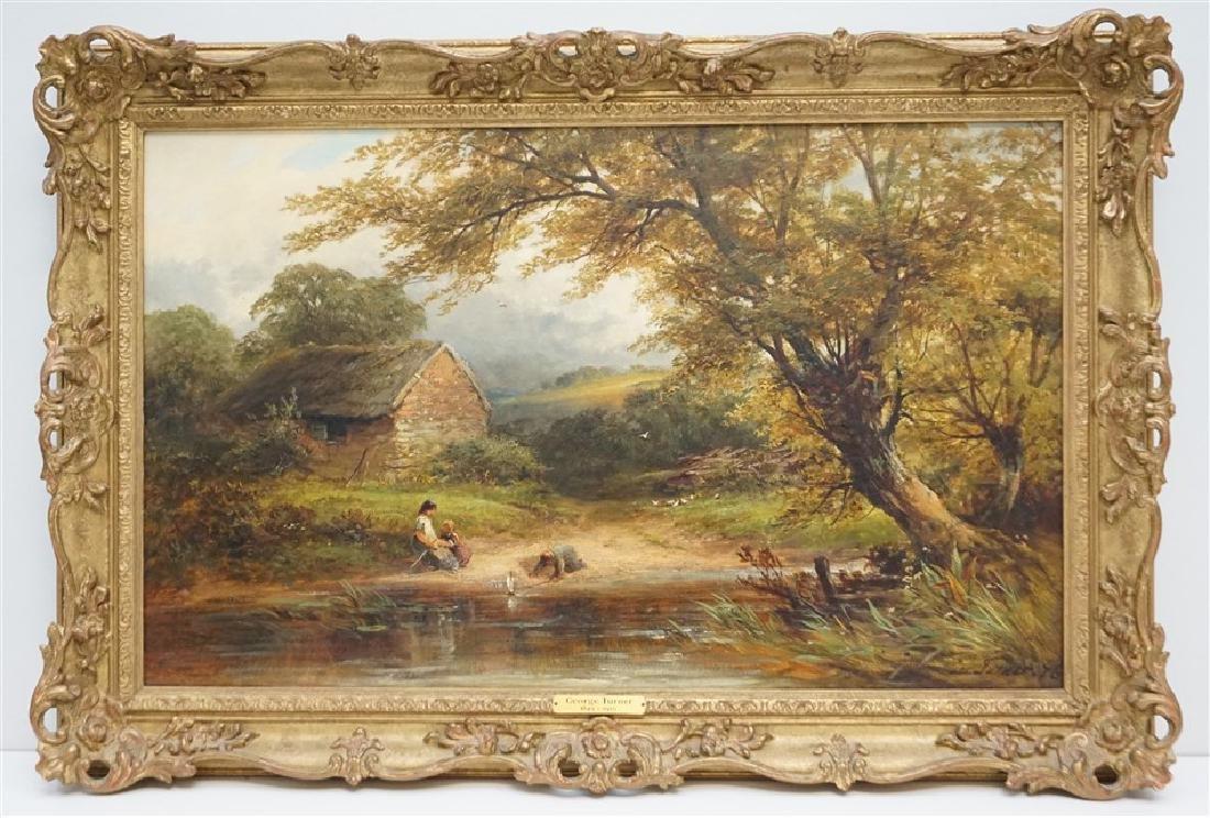 GEORGE TURNER (BRITISH, 1843-1910) OIL