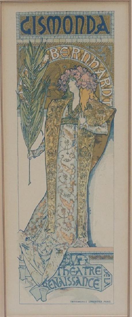 ALPHONSE-MARIE MUCHA c 1894 GISMONDA
