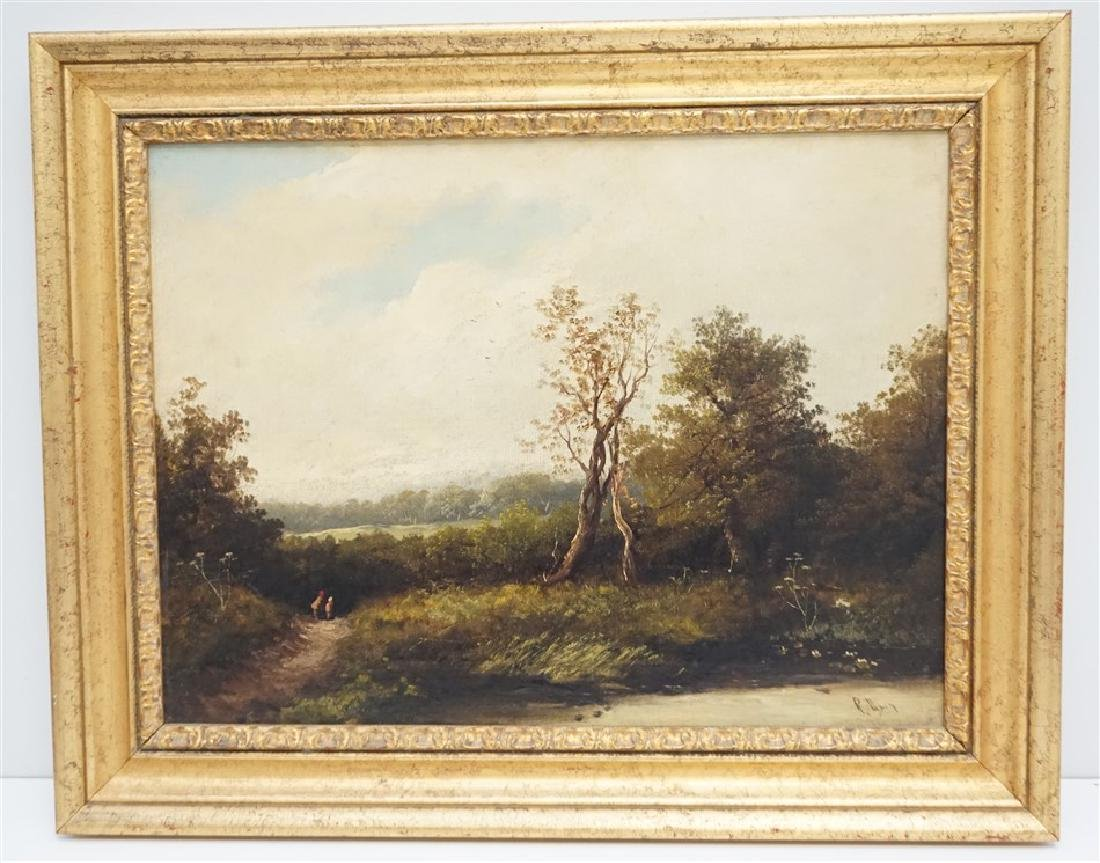 ENGLISH OIL LANDSCAPE AFTER PERCY
