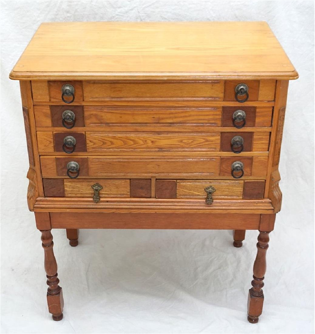 SIX DRAWER SPOOL CHEST