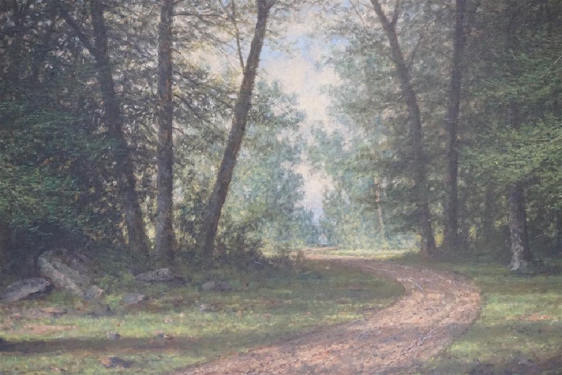 CARL C BRENNER (1838-1888 Louisville, KY) LANDSCAPE - 4