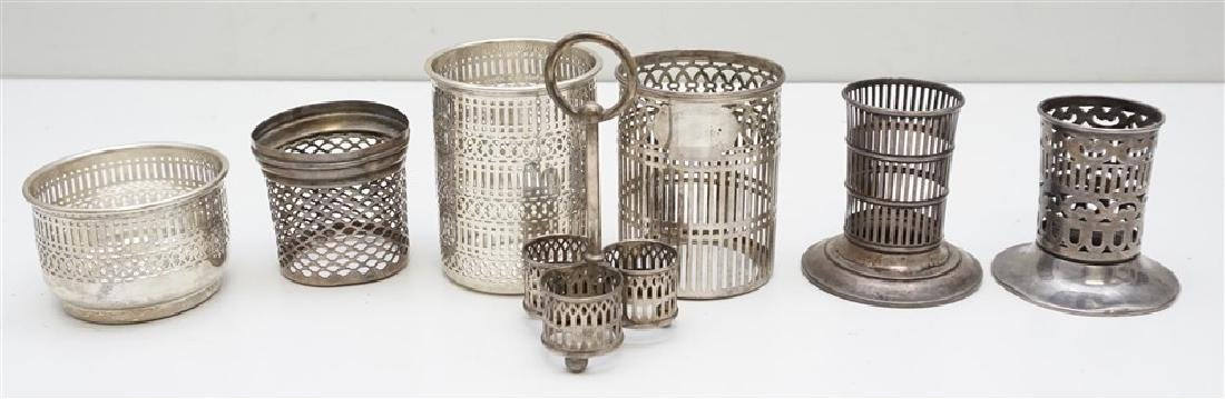 7 PC RETICULATED STERLING GROUP