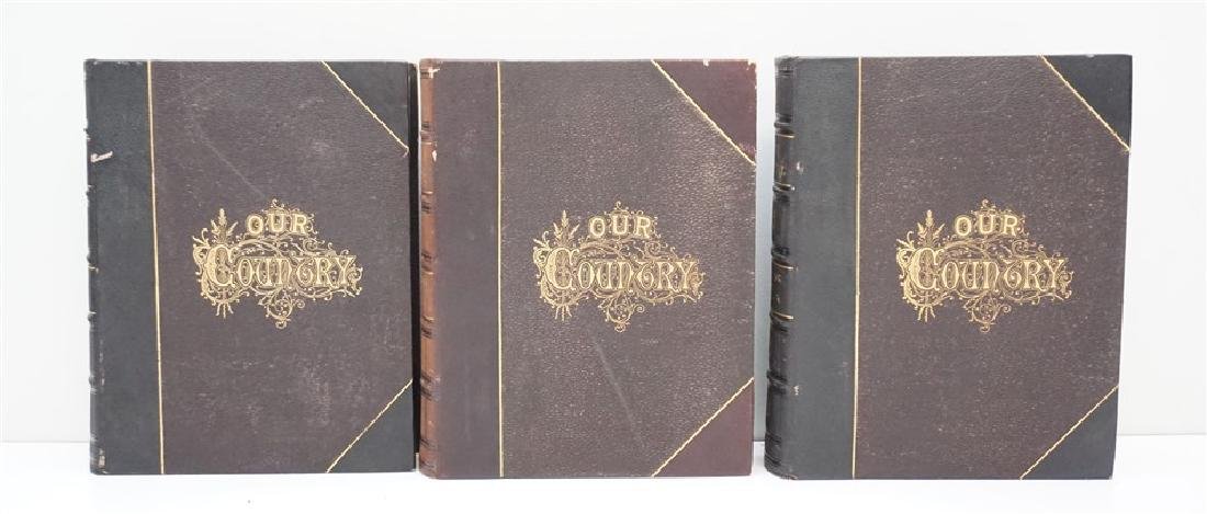 3 VOL 19th OUR COUNTRY - BENSON LOSSING