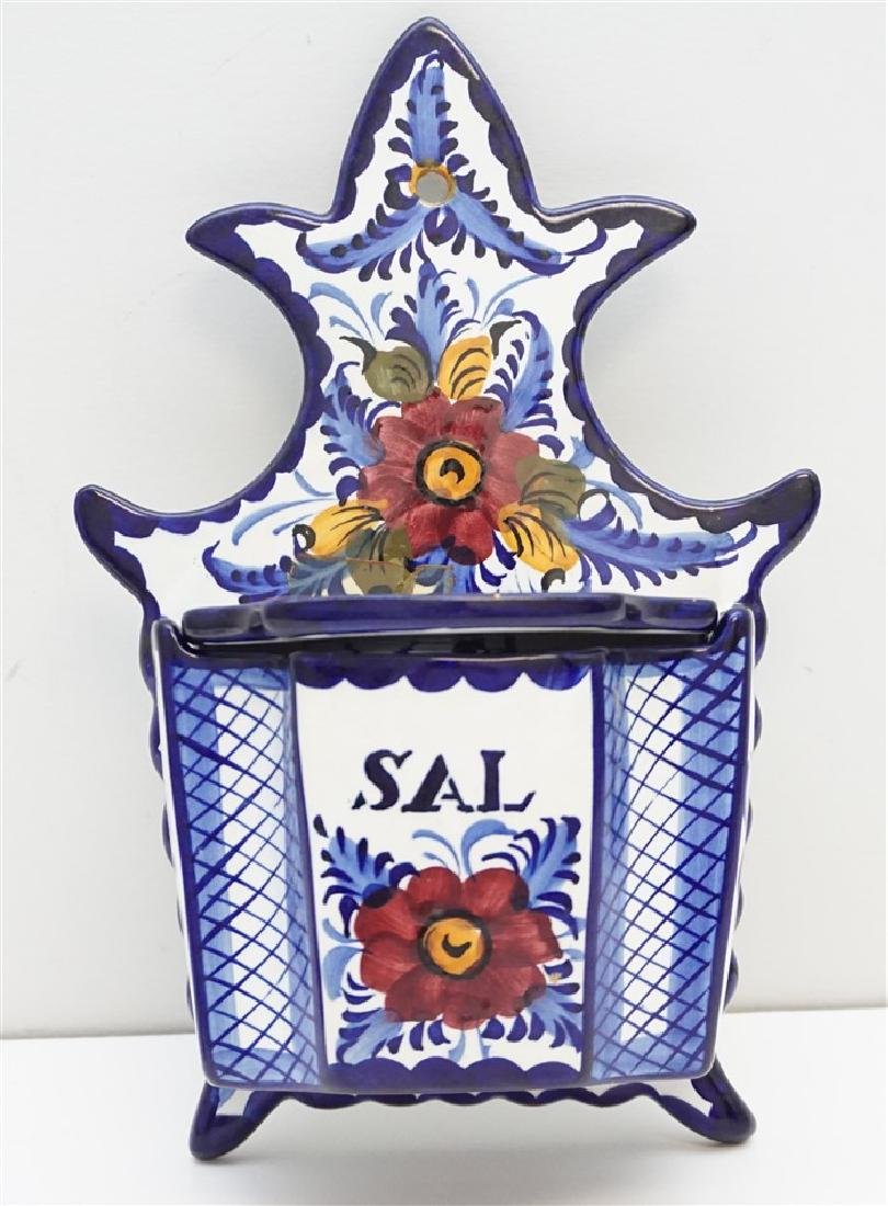 HAND PAINTED PORTUGAL MAJOLICA