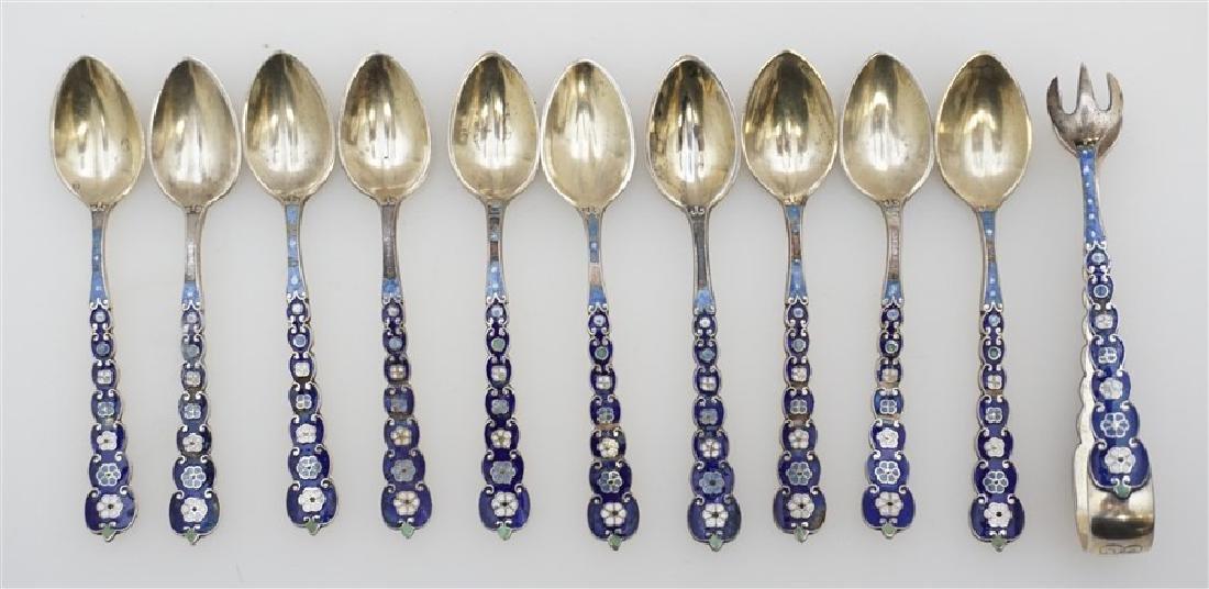 """Vintage Lot of 2 Sterling Silver Gorham Demitasse Spoon Melrose Pattern 4-3//8/"""""""