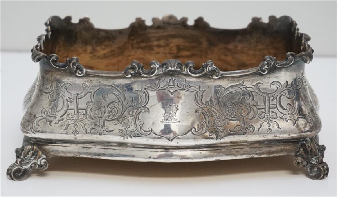 ENGLISH STERLING 1846 JARDINIERE