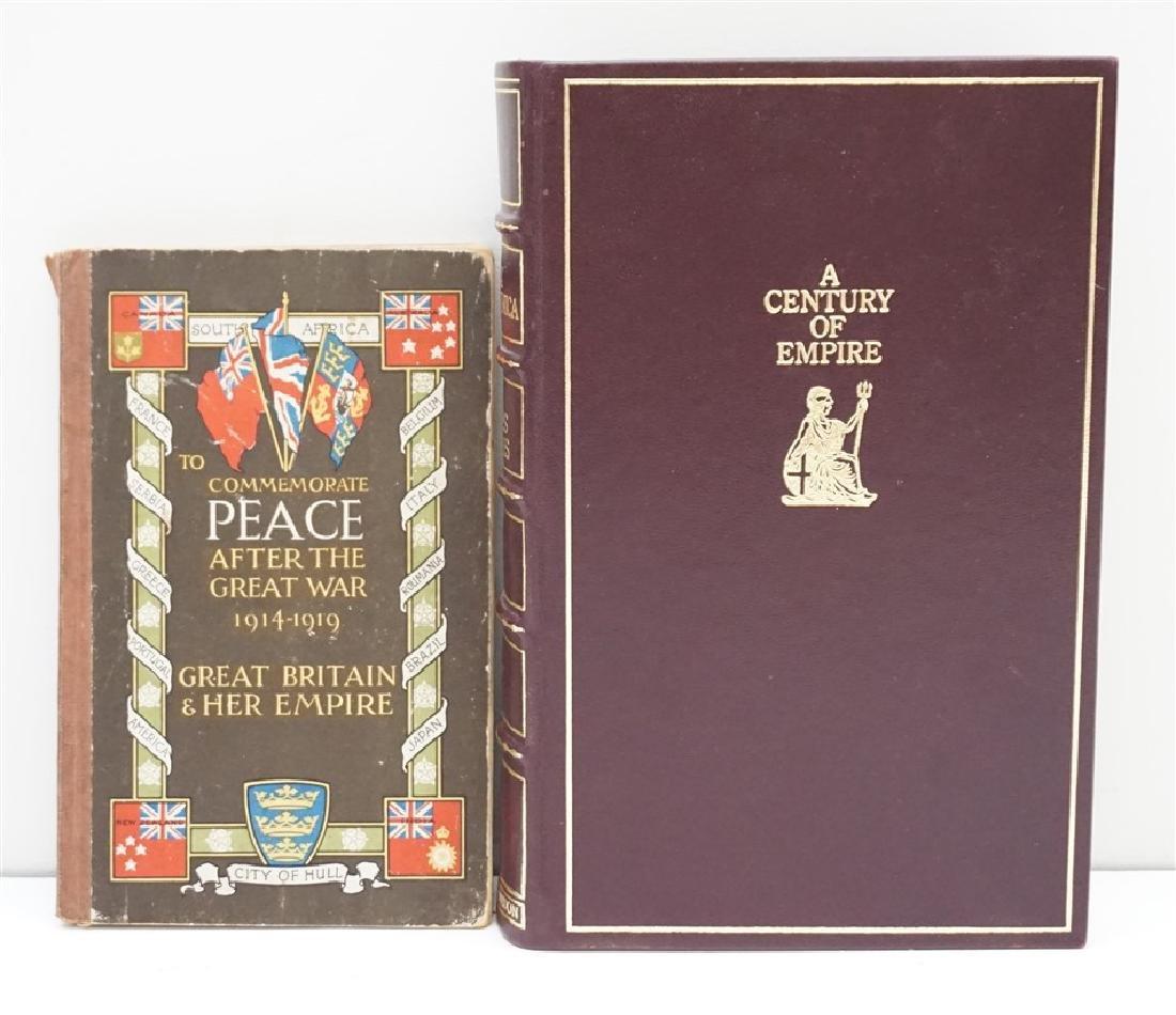 2 PAX BRITANNICA + TO COMMEMORATE PEACE
