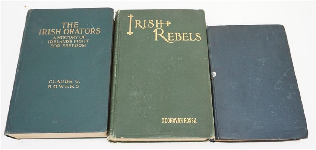 RARE AUTOGRAPHED IRISH REBELS ROSSA