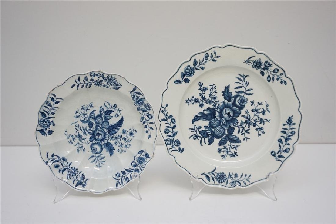 PAIR DR WALL WORCESTER PLATES
