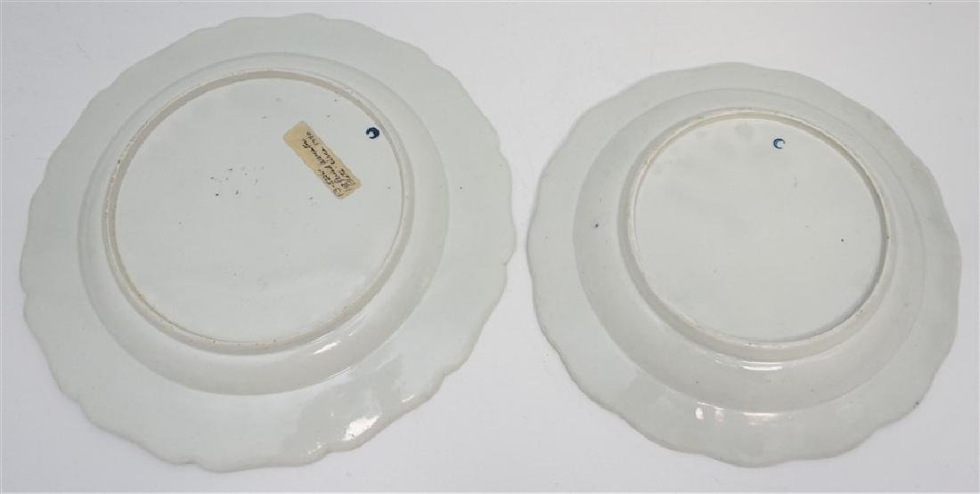 PAIR DR WALL WORCESTER PLATES - 5