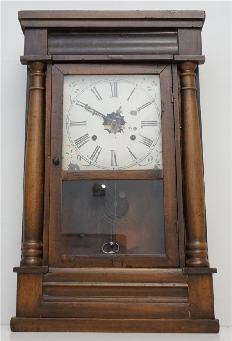 ANTIQUE AMERICAN OGEE CLOCK