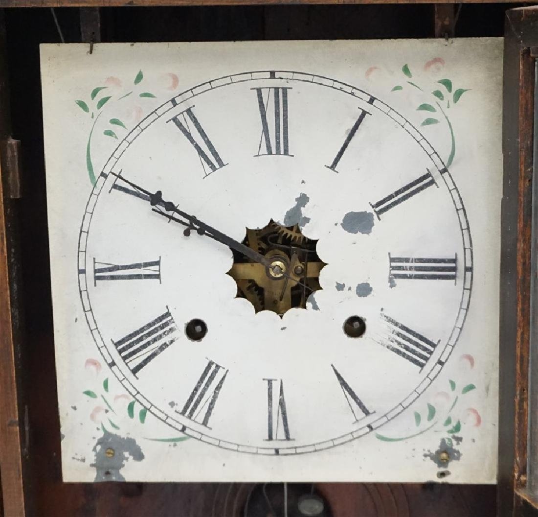 ANTIQUE AMERICAN OGEE CLOCK - 2