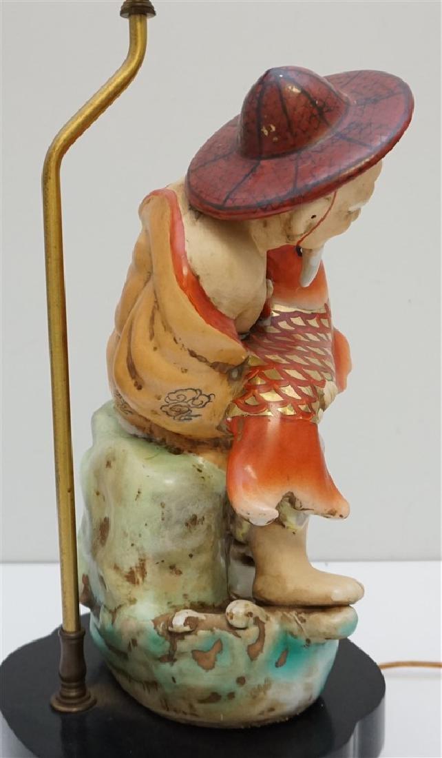 WINDERMERE MID CENTURY ASIAN LAMP - 4