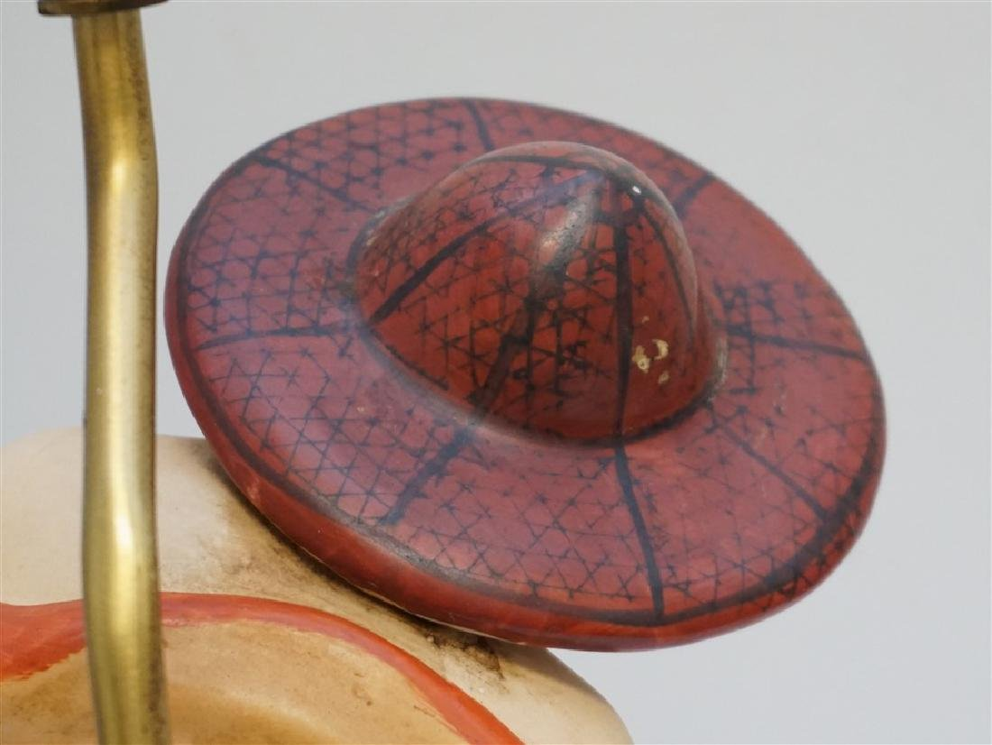 WINDERMERE MID CENTURY ASIAN LAMP - 6