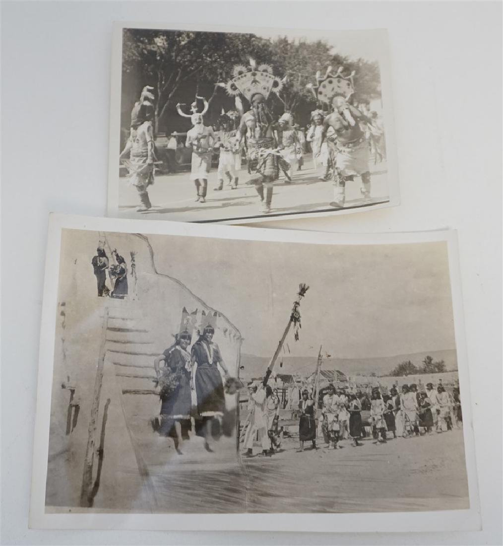 2 1920S SAN CARLOS APACHE DEVIL DANCE & MAIDENS
