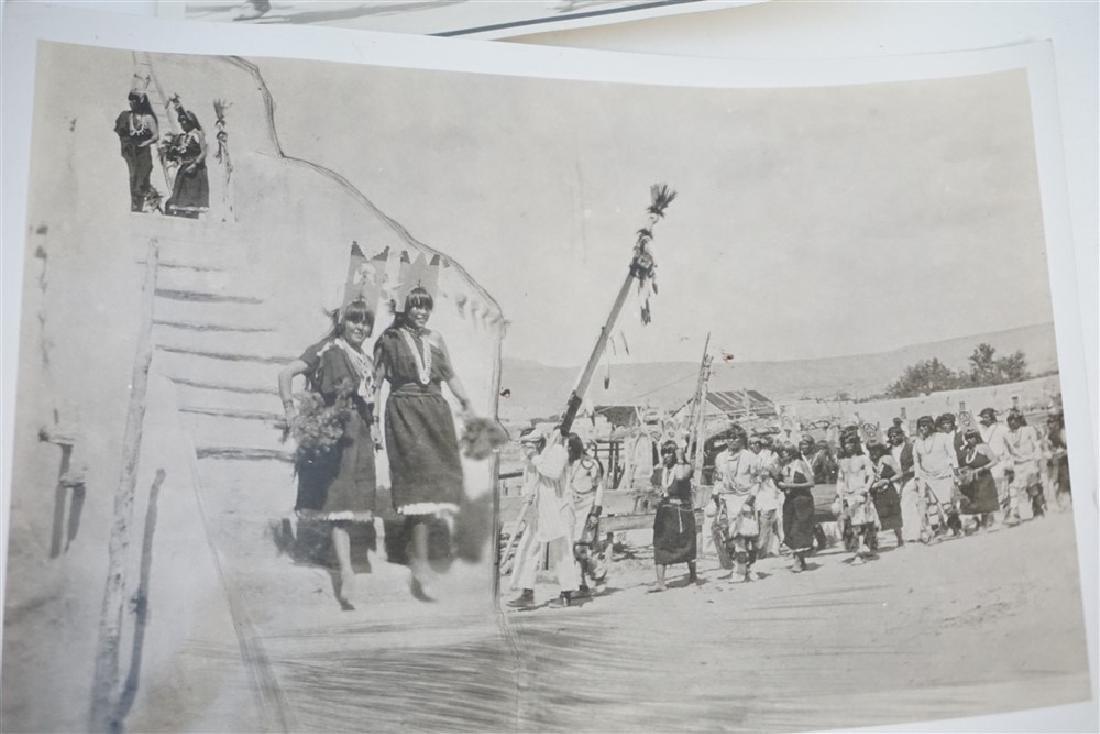 2 1920S SAN CARLOS APACHE DEVIL DANCE & MAIDENS - 2