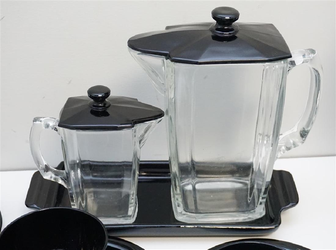 LARGE LOT BLACK AMETHYST GLASS - 3