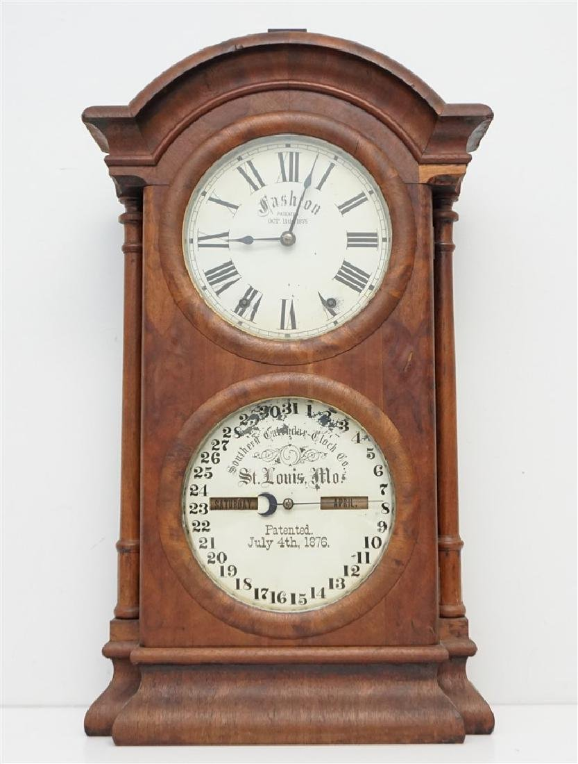 1895 FASHION MODEL 2 SOUTHERN CALENDER CLOCK