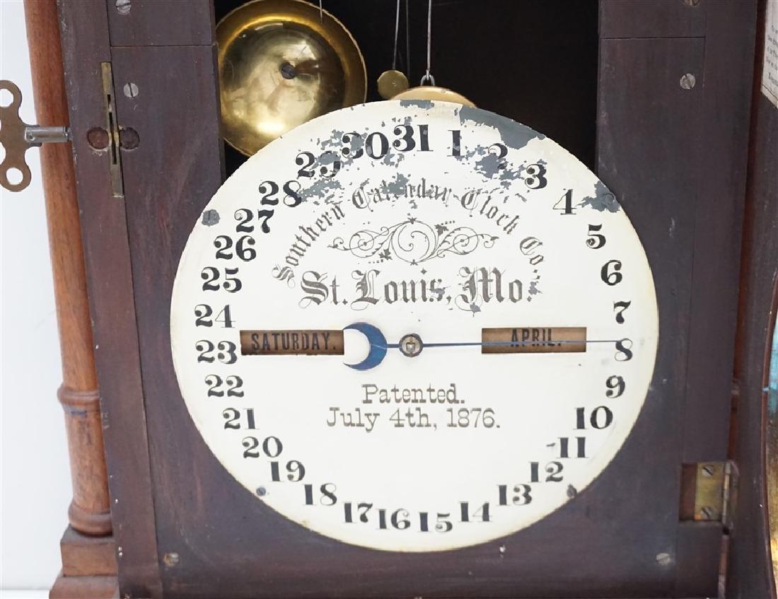 1895 FASHION MODEL 2 SOUTHERN CALENDER CLOCK - 5
