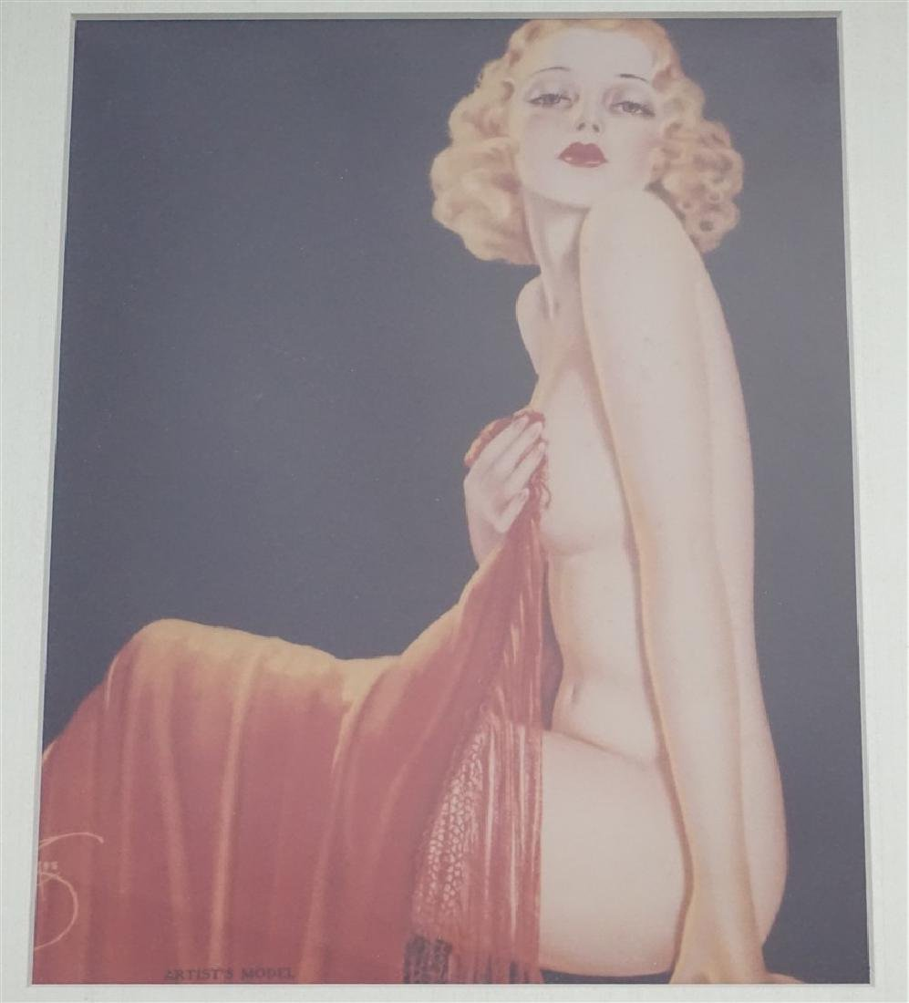 ART DECO ARTISTS MODEL PRINT - 2