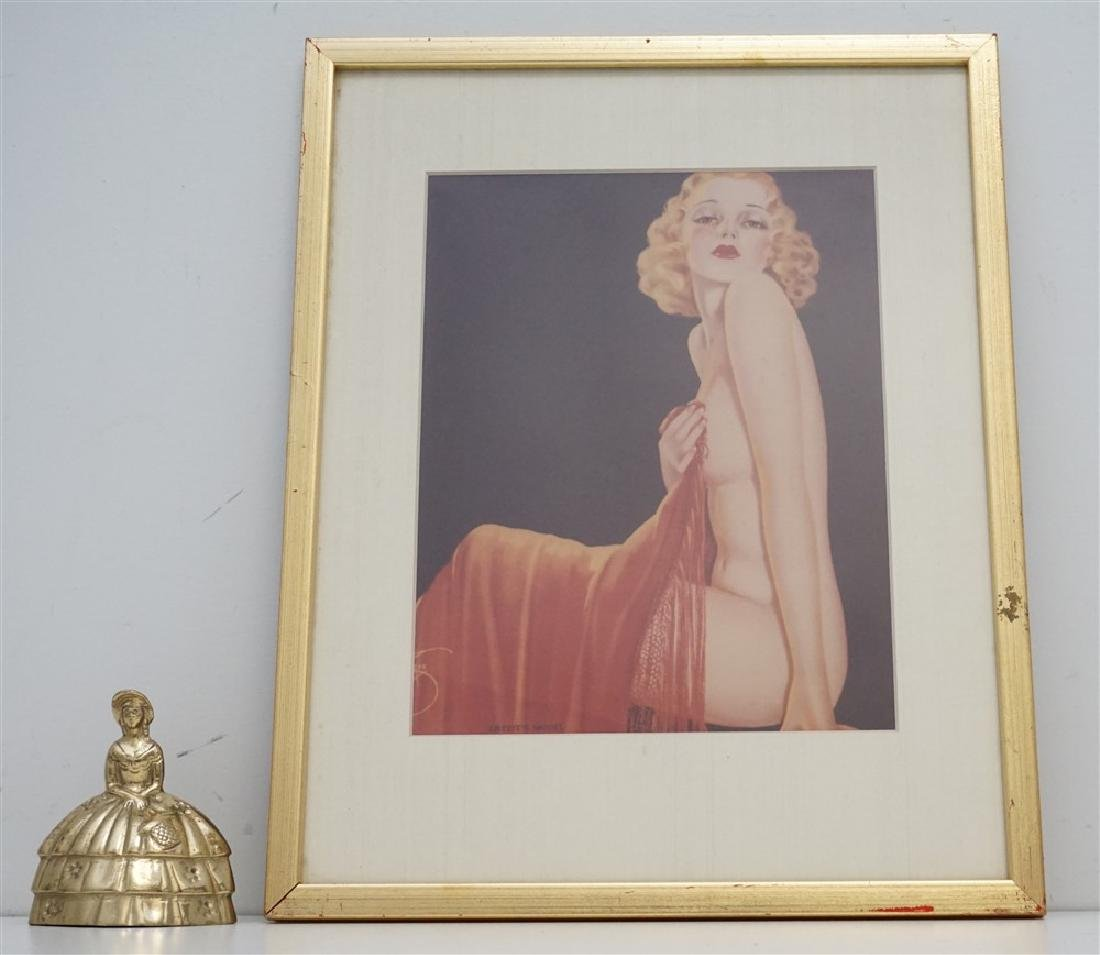 ART DECO ARTISTS MODEL PRINT - 4