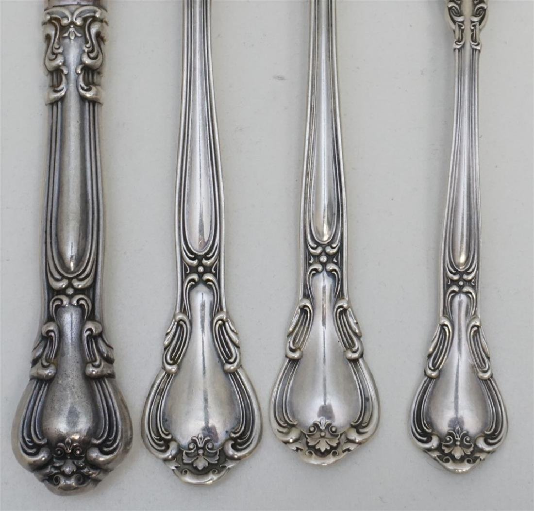 16 pc GORHAM STERLING CHANTILLY - 3