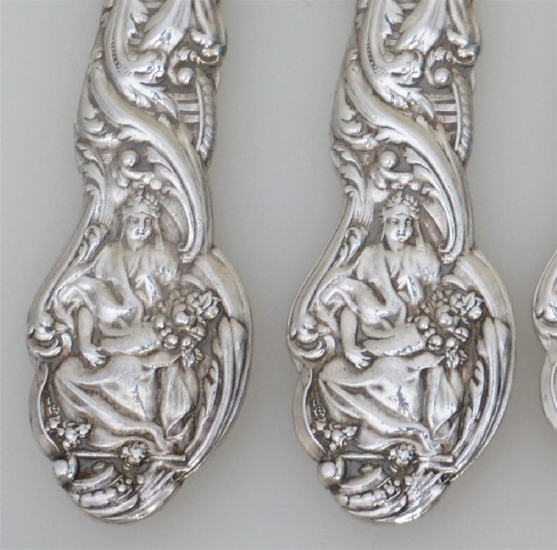 4 GORHAM STERLING VERSAILLES 1888 KNIVES - 4