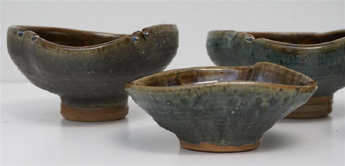 7 pc EB STUDIO ART POTTERY BOWLS - 5
