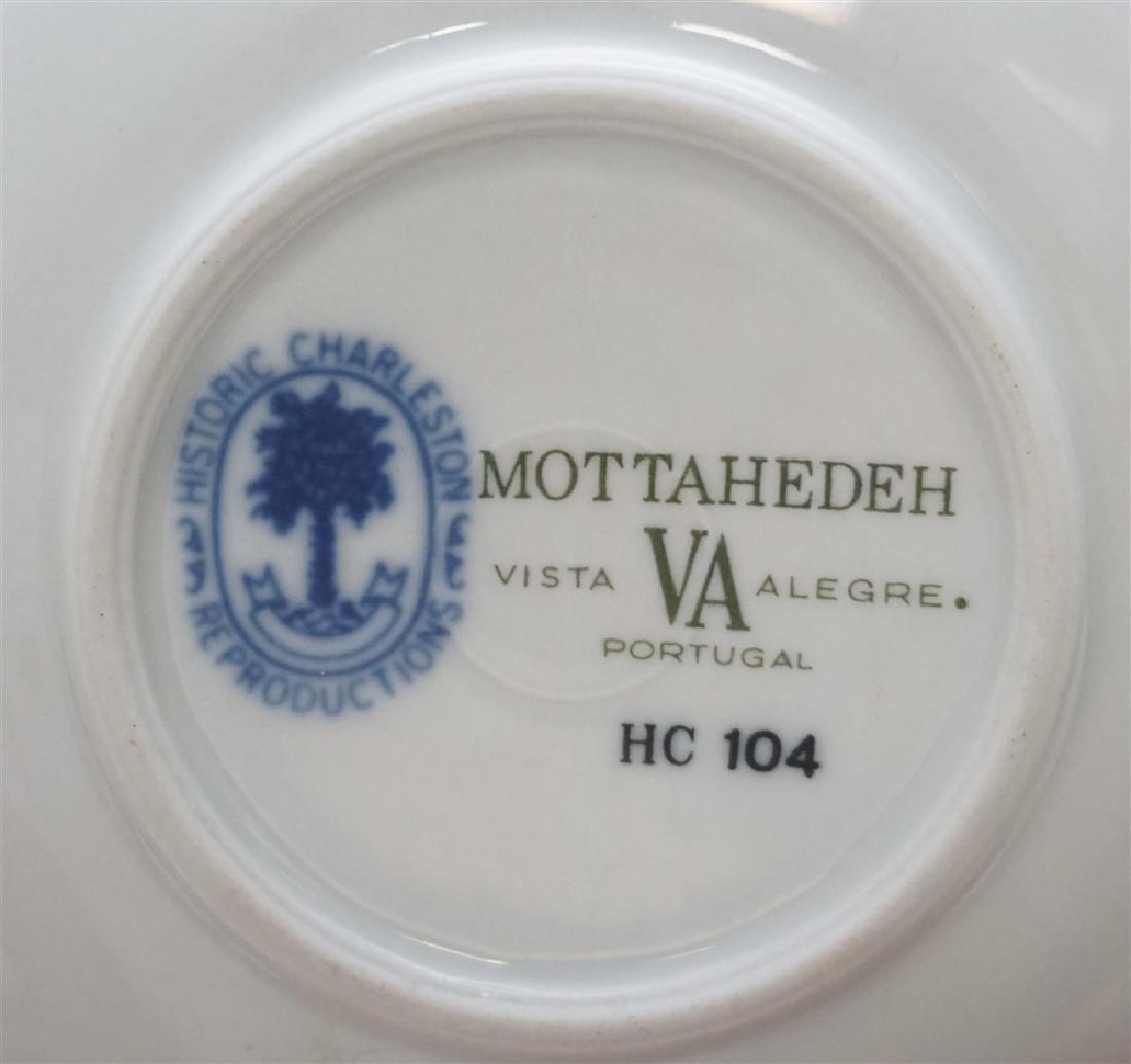 6 HISTORIC CHARLESTON BLUE CANTON MOTTAHEDEH - 10