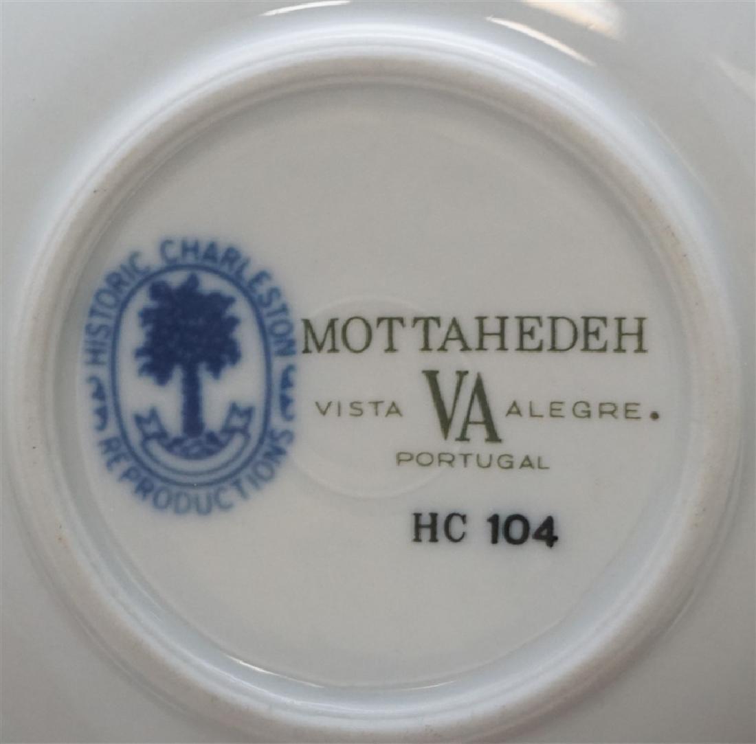 6 HISTORIC CHARLESTON BLUE CANTON MOTTAHEDEH - 9