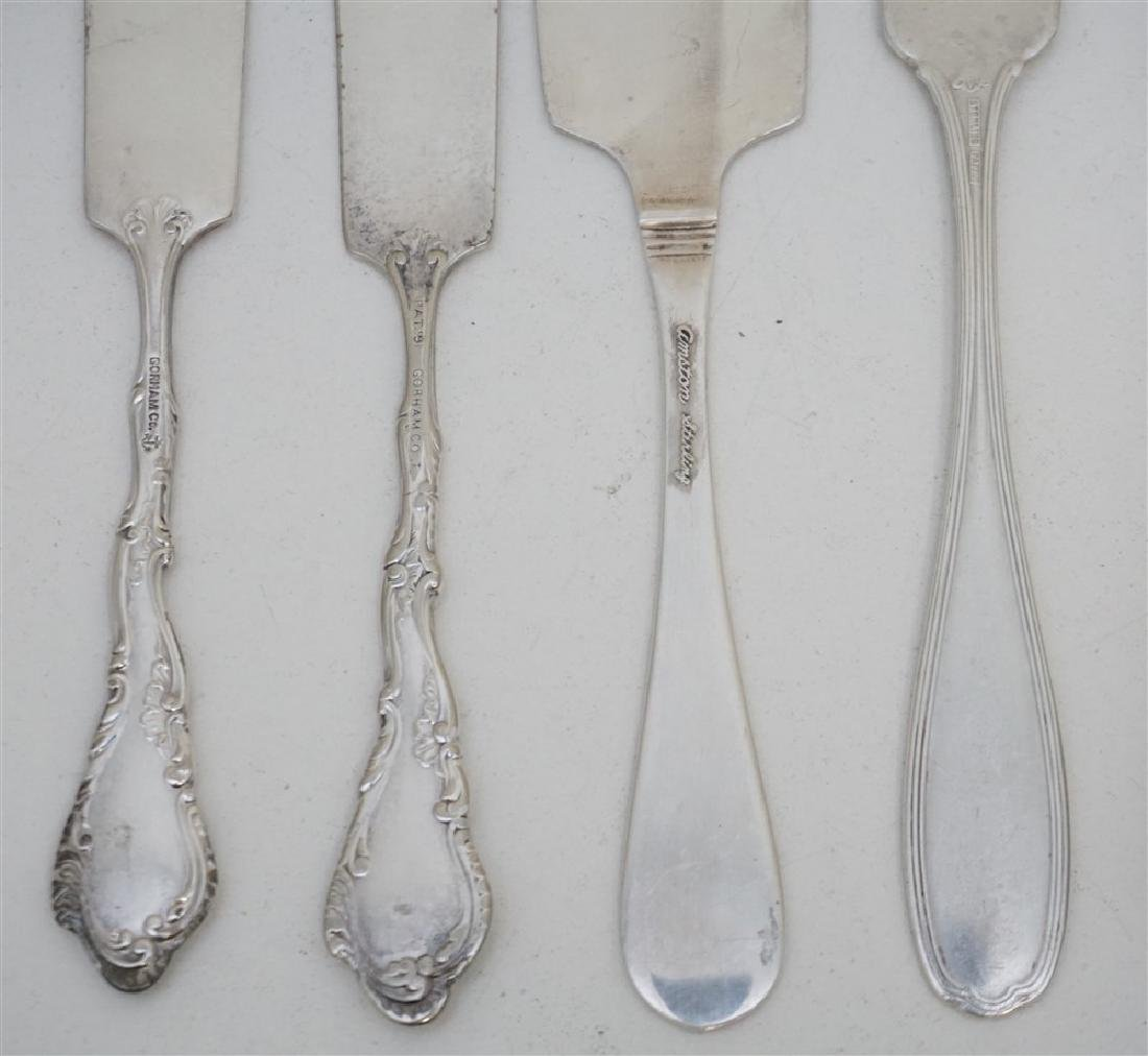 7 pc STERLING KNIVES & BUTTER - 5