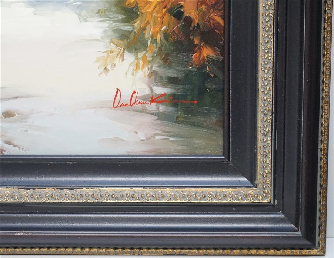 LARGE CONTEMPORARY OIL ON CANVAS - 3
