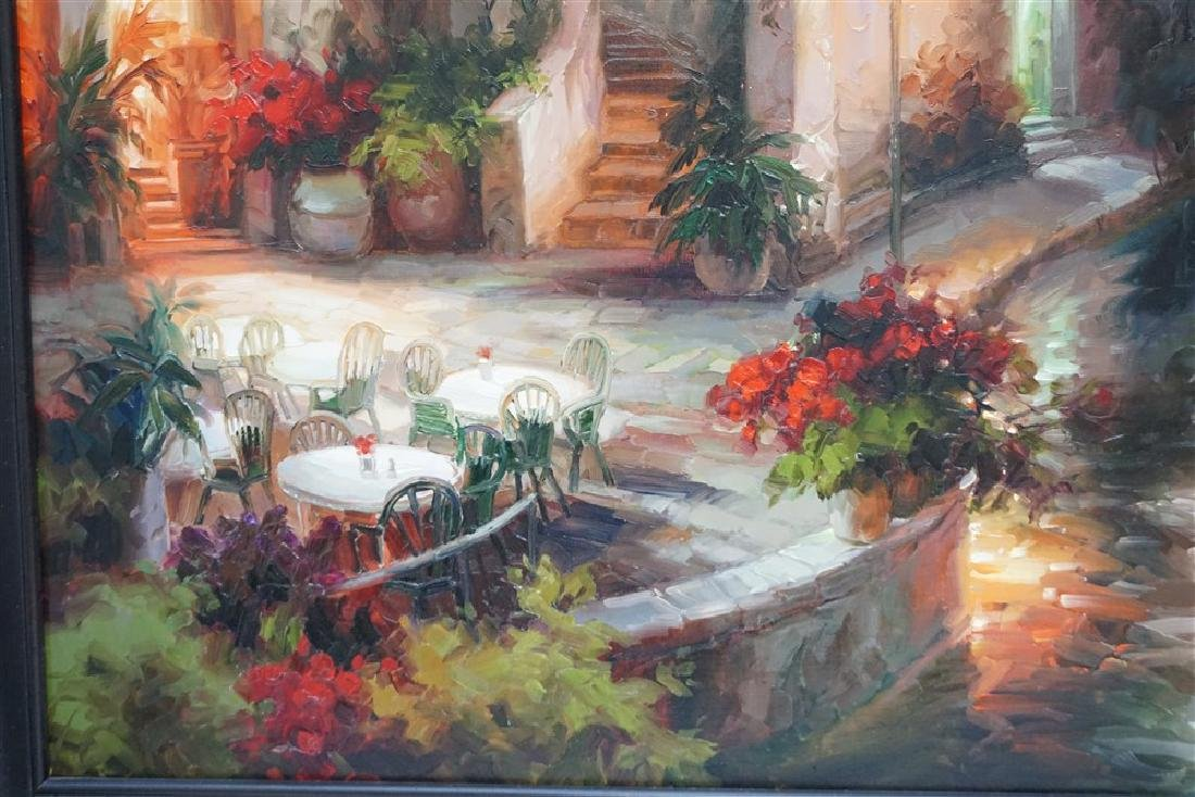 LARGE CONTEMPORARY OIL ON CANVAS - 4