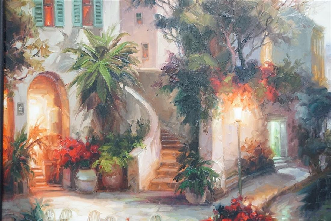 LARGE CONTEMPORARY OIL ON CANVAS - 5