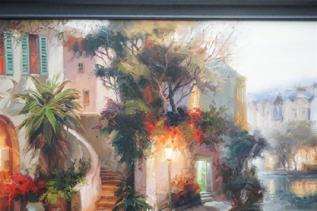 LARGE CONTEMPORARY OIL ON CANVAS - 7